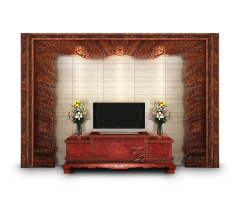 标准版客厅电视背景墙9