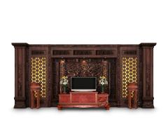 定制版客厅电视背景墙4