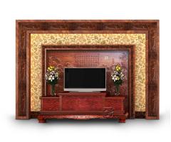 简装版客厅电视背景墙3
