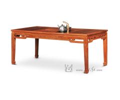 卷草纹茶桌