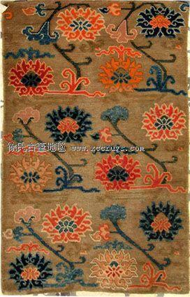 图为:西藏白驼底莲花