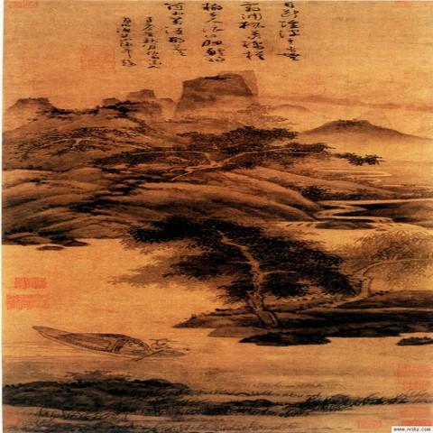 古代山水画欣赏图片