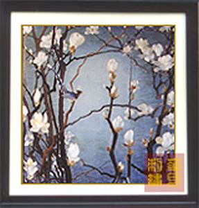 汉代刺绣花纹黑白