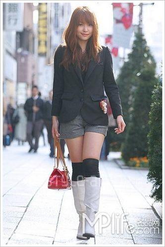 2010流行鞋子搭配