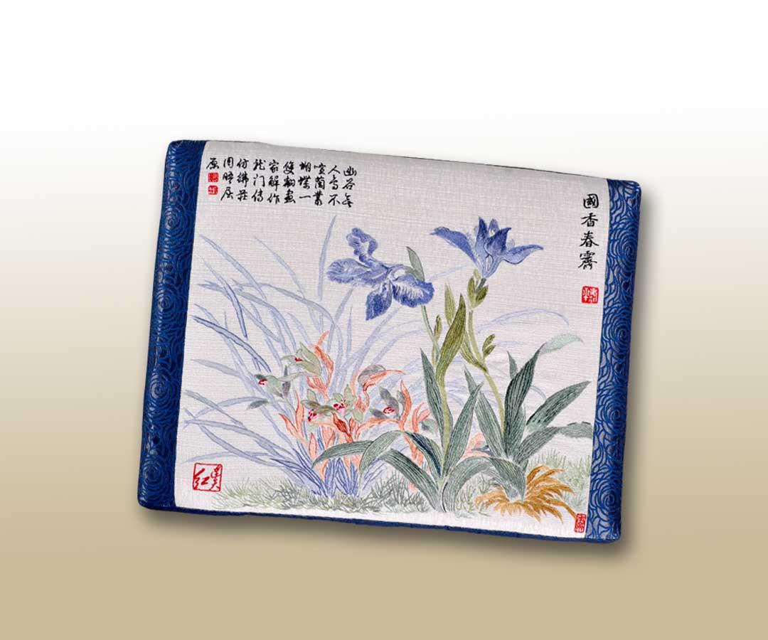 兰花蝴蝶花_连天红(福建)家具有限公司