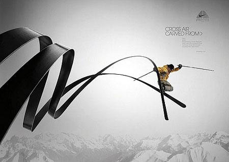 耐克创意广告_海报设计欣赏