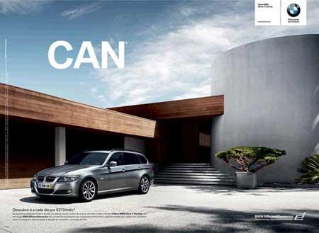 宝马汽车创意海报设计