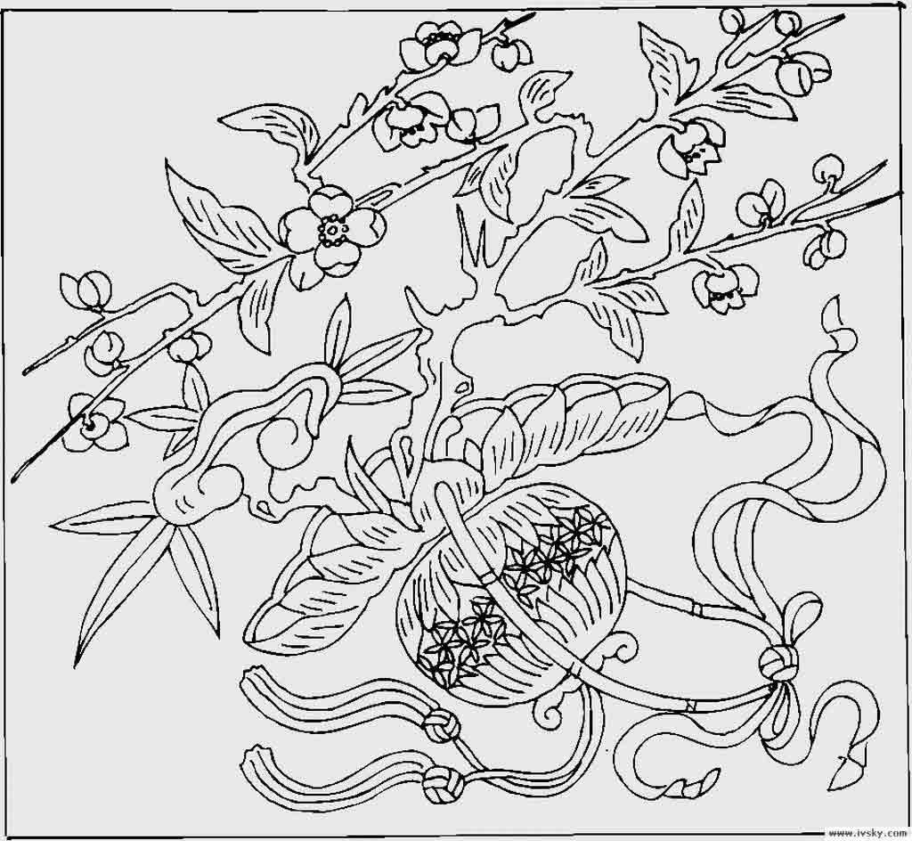 传统吉祥图案赏析(三)(9)_图案寓意_连天红(福建)家具图片