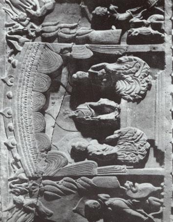 麦积山石雕造像碑