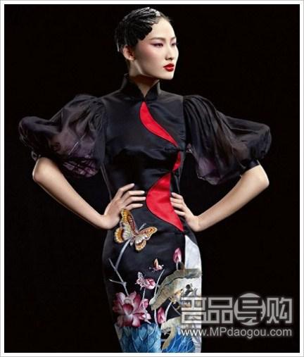 中式婚纱礼服演绎爆美中国风