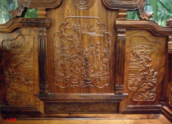 细说红木家具上面雕刻的图案及其寓意(3)