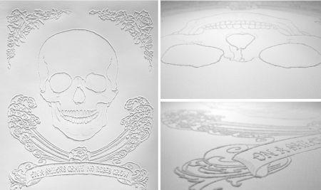 纸上纹身贴纸 形成与众不同的图案机理