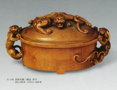 其造型在木雕工艺中殊为罕见