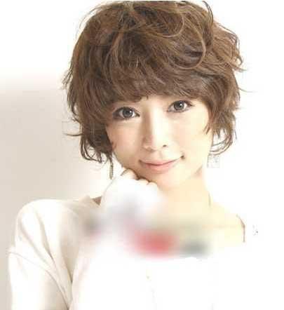 流行热点前沿2012日系流行短发发型(1)_发型刘海m发型大全图片图片