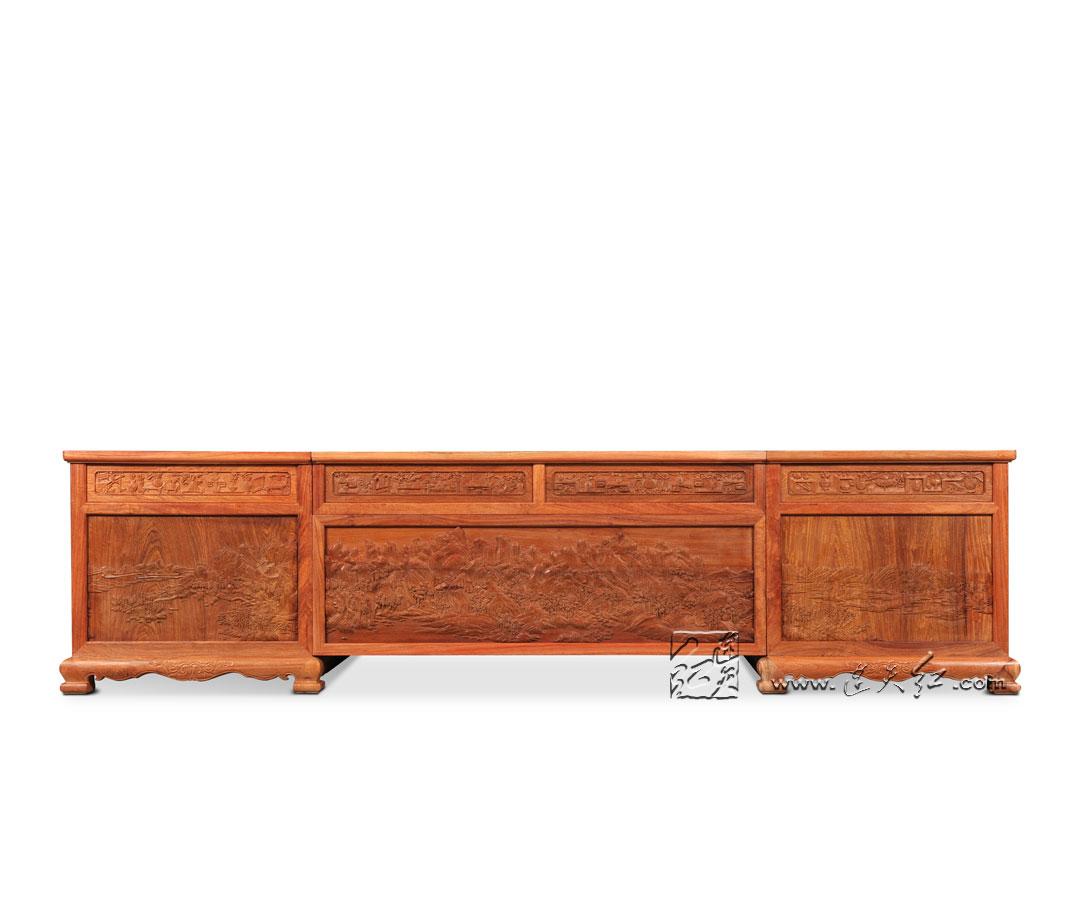 欧式新古典办公桌软装配饰