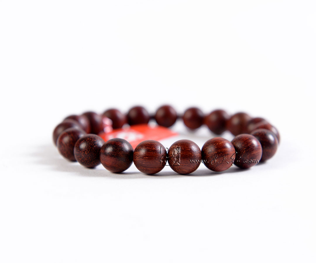 印度小叶紫檀佛珠手链1.0-手串类-连天红(福建)家具