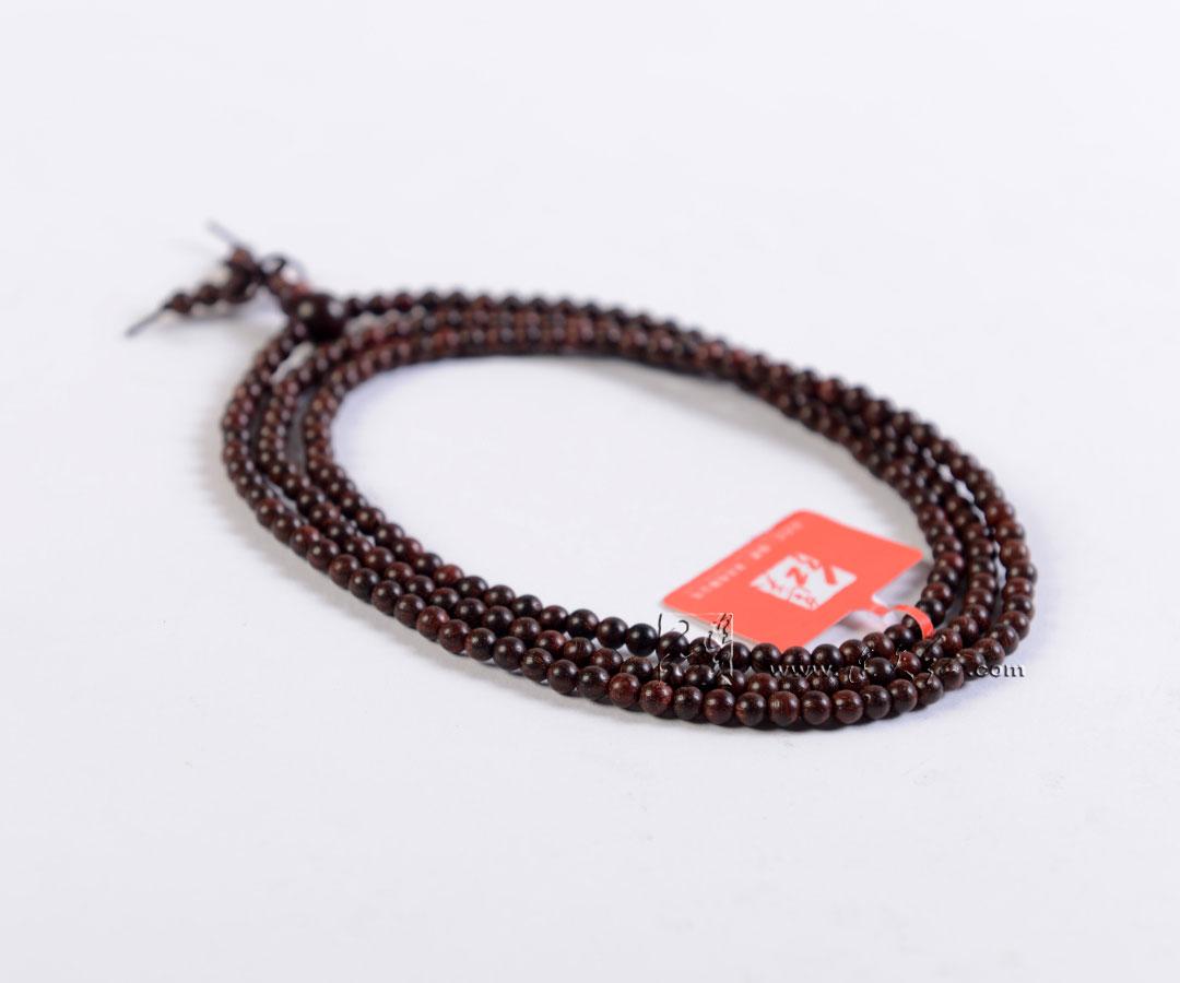印度小叶紫檀佛珠手链0.4-手串类-连天红(福建)家具