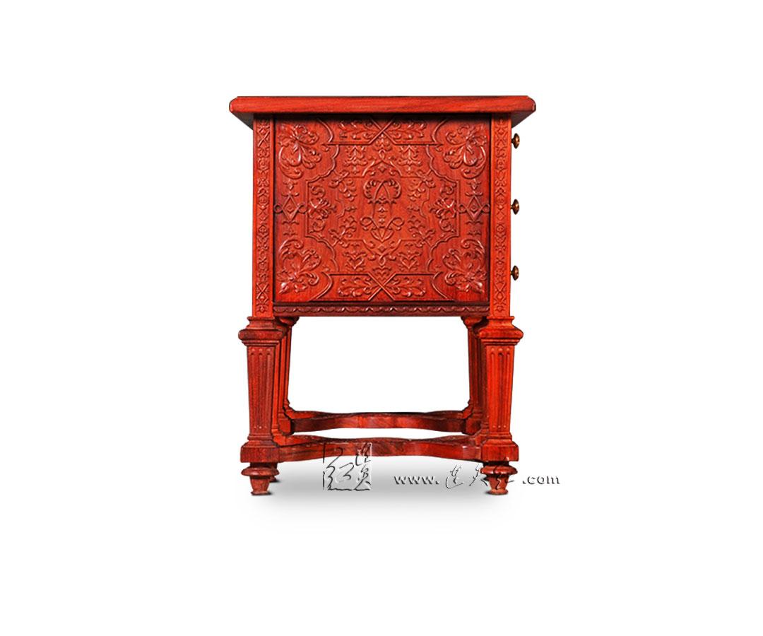 书桌_书房系列__连天红(福建)家具有限公司