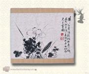 百宝嵌花果图宝座(CB06A)-配套坐垫