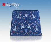 透雕卷草纹三人椅(YJ26)-配套坐垫